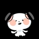 Mr.White bear sticker #1057773