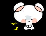 Mr.White bear sticker #1057774
