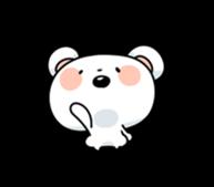Mr.White bear sticker #1057776