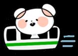 Mr.White bear sticker #1057779