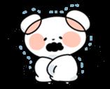 Mr.White bear sticker #1057782