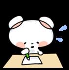 Mr.White bear sticker #1057784