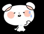 Mr.White bear sticker #1057785