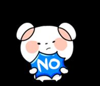Mr.White bear sticker #1057787