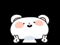 Mr.White bear sticker #1057788