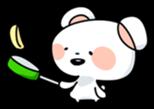 Mr.White bear sticker #1057792