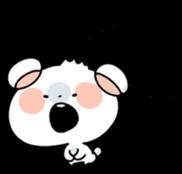 Mr.White bear sticker #1057795