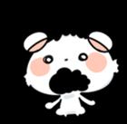 Mr.White bear sticker #1057796