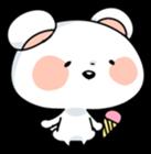 Mr.White bear sticker #1057797