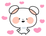 Mr.White bear sticker #1057798