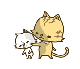 Tabby cat sticker -English- sticker #1059162