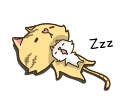 Tabby cat sticker -English- sticker #1059173