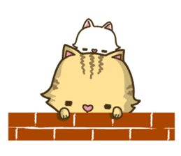 Tabby cat sticker -English- sticker #1059199