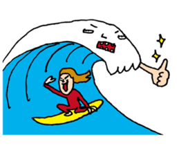 DASA SURFING LIFE sticker #1059580
