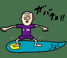 DASA SURFING LIFE sticker #1059581