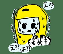 She is TAMAKO sticker #1059659