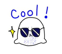 bluebeard harborseal sticker #1059739