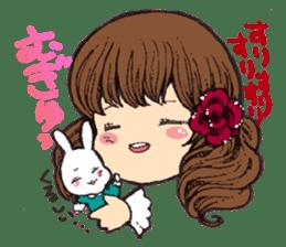 Rabbit Dreaming! sticker #1060767