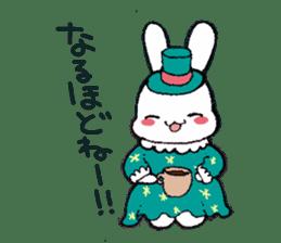 Rabbit Dreaming! sticker #1060774