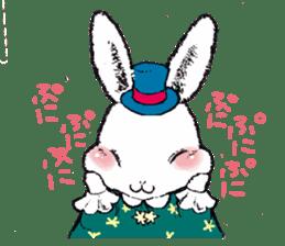 Rabbit Dreaming! sticker #1060775