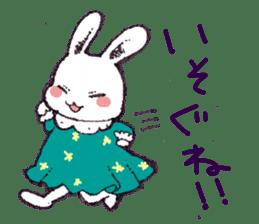 Rabbit Dreaming! sticker #1060776