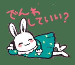 Rabbit Dreaming! sticker #1060777