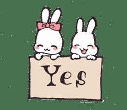 Rabbit Dreaming! sticker #1060779