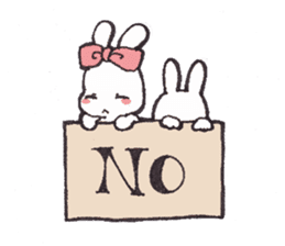 Rabbit Dreaming! sticker #1060780