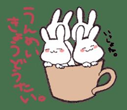 Rabbit Dreaming! sticker #1060781