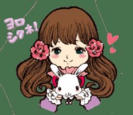 Rabbit Dreaming! sticker #1060788