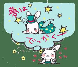 Rabbit Dreaming! sticker #1060790