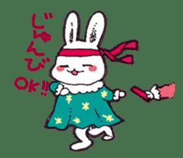 Rabbit Dreaming! sticker #1060791