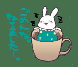 Rabbit Dreaming! sticker #1060792