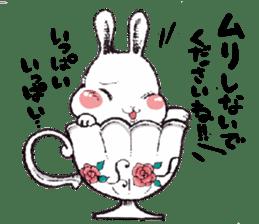 Rabbit Dreaming! sticker #1060793