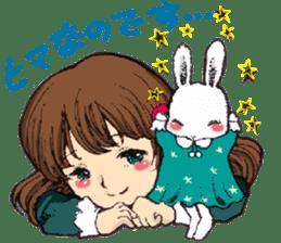 Rabbit Dreaming! sticker #1060795