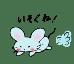 Nyanko tongue of talking like. sticker #1061016