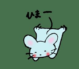 Nyanko tongue of talking like. sticker #1061030