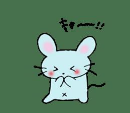 Nyanko tongue of talking like. sticker #1061032