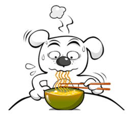 Silly Dog sticker #1061235