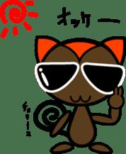 Boss-Subordinate Relationship of Monkey sticker #1061646