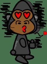 Boss-Subordinate Relationship of Monkey sticker #1061658