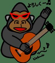 Boss-Subordinate Relationship of Monkey sticker #1061661