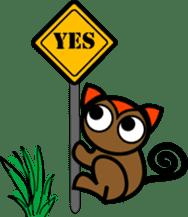 Boss-Subordinate Relationship of Monkey sticker #1061667
