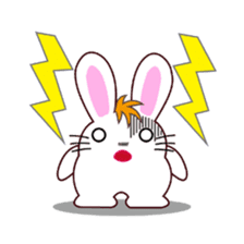 I am Raddy.Mixed of cat and rabbit. sticker #1062297