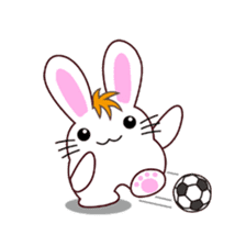I am Raddy.Mixed of cat and rabbit. sticker #1062314