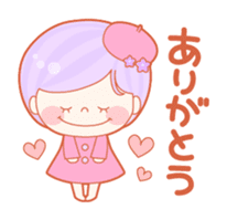 Lively flower girls sticker #1062404