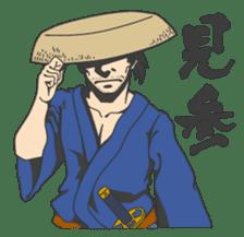 The SAMURAI Sticker! sticker #1063042