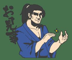 The SAMURAI Sticker! sticker #1063045