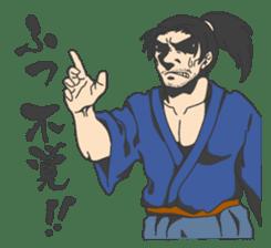 The SAMURAI Sticker! sticker #1063063
