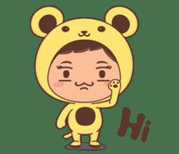 I'm Sunny sticker #1063242